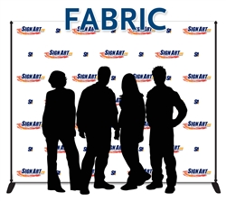 Sign Art Etc, fabric step and repeat 8x10 with stand