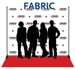 8x10 fabric backdrops made from seamless, matte polyester. Includes aluminum stand and 3x10 red carpet.