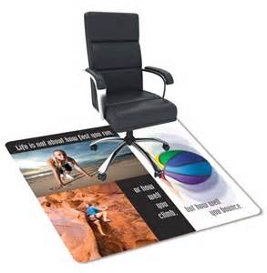 custom printed chair mats custom printed chair and floor mats custom