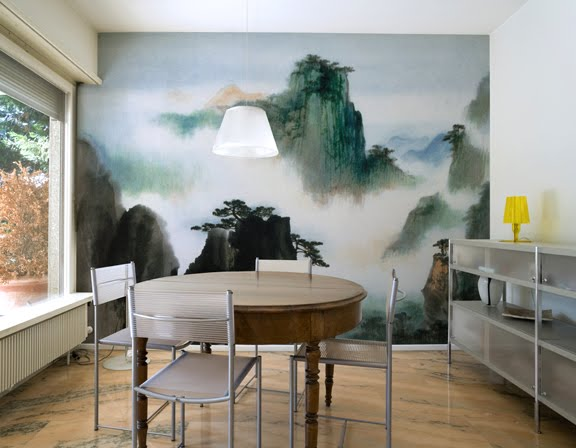 Custom Wallpaper Murals for Home Office Eco Friendly Paper Ink