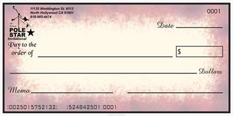 oversized checks