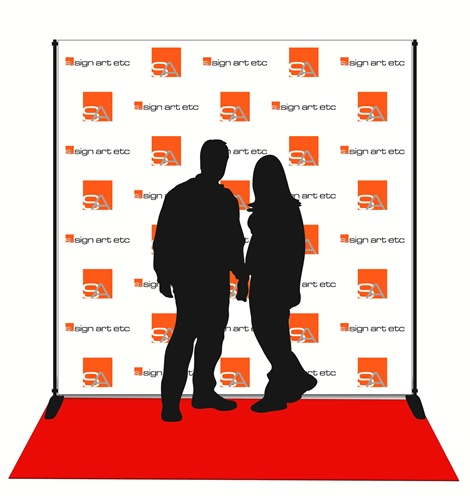 Red Carpet Banner | Fabric Banner, Stand and Carpet