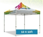 10 x 10 Canopy and Frame Printed All Over