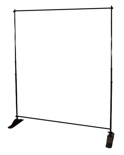 Step And Repeat Stand Adjustable Aluminum For Backdrops