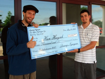 oversized check template